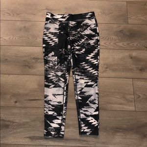 Workout yoga leggings capris